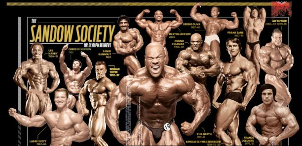 mr olympia winners