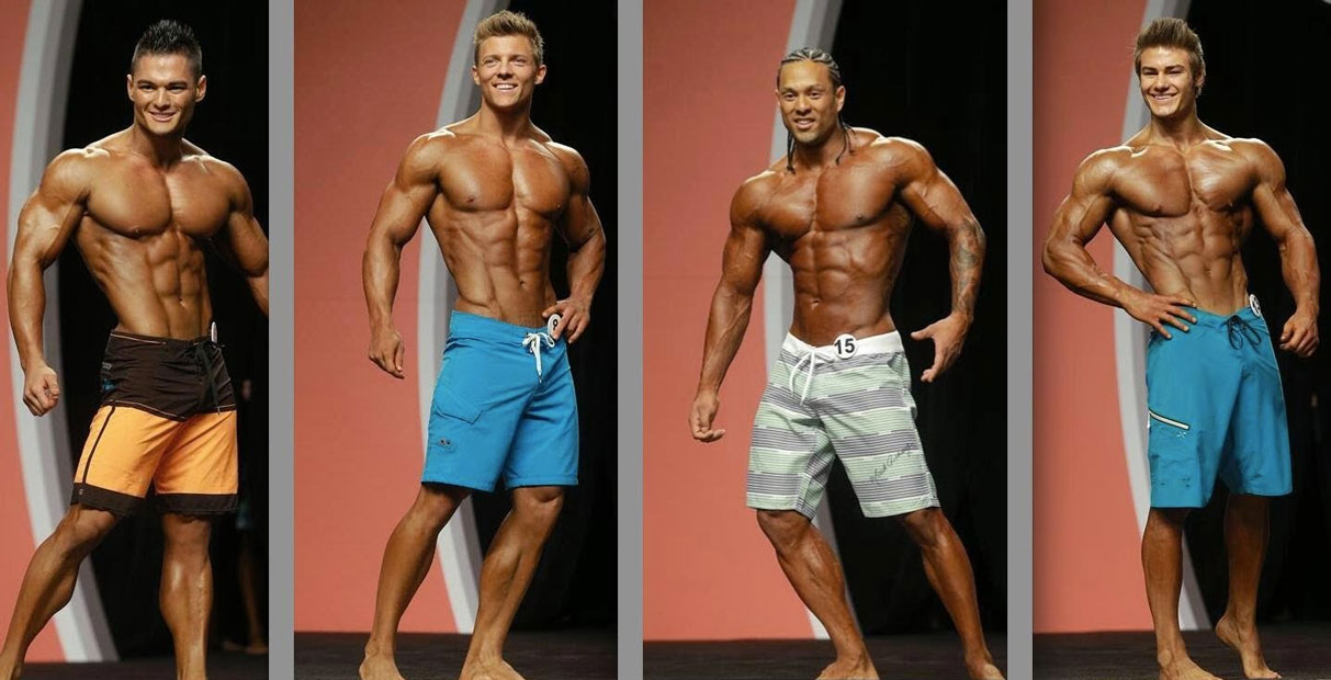 Men's Physique Competitors
