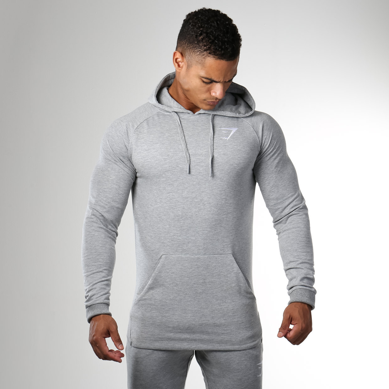 Gymshark Ark Pullover in Light Grey
