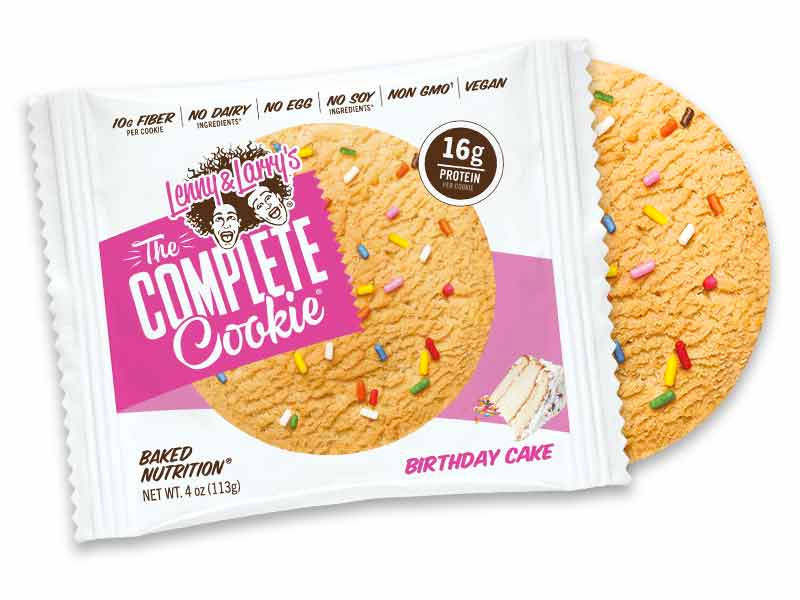 Lenny & Larry's Birthday Cake Cookie flavor
