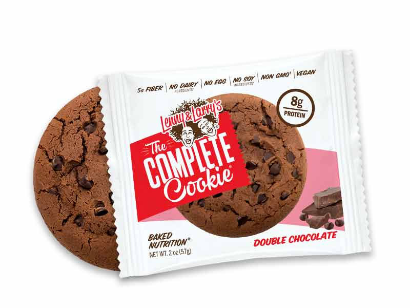 Lenny & Larry's Double Chocolate Cookie flavor
